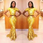 How to Wear A Yellow Two Pieces