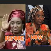 10 years after Turai YarAdua left office as the first lady of Nigeria, see her recent photos