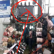 """""""This One Weak Me""""- See Picture Of An Electrical Shop Seen With A Transformer On Top It (Photo)"""