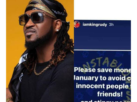 Reactions as Paul Psquare advised fans to save money to avoid calling people