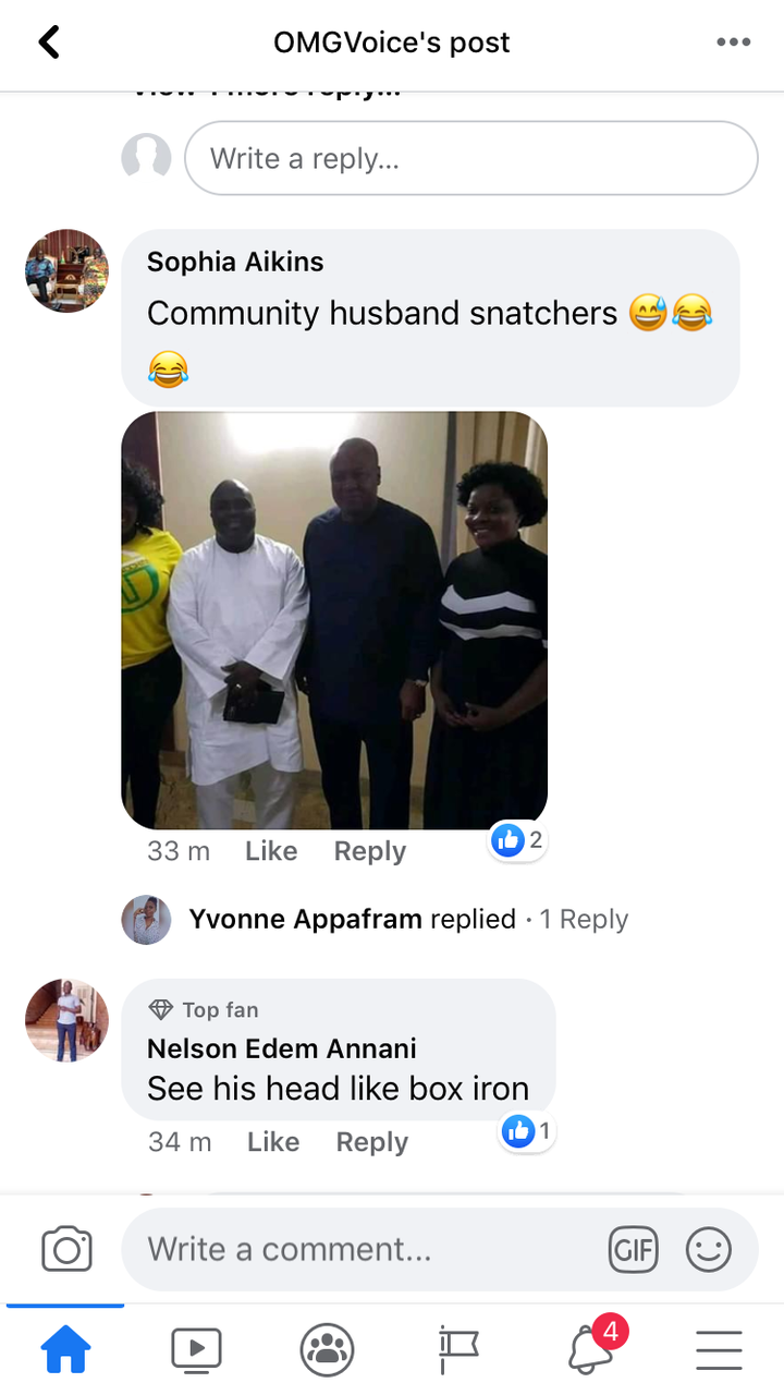 """9f942678d19820a0abc21a1ba1fc1c1d?quality=uhq&resize=720 - He's The Real (Papa No)"""" - Ghanaians Reacts To A Photo Of Nana Addo Having A Good Time With A Lady"""