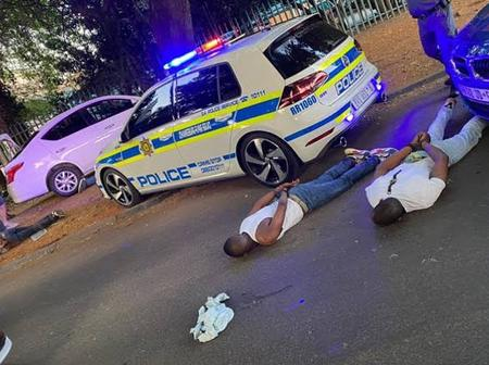 Police Capture Suspects Linked To Murder Of Cape Town Man, Who They Murdered In Front Of His Child.