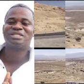 Great Ampong Visits Sodom & Gomorrah In Israel To Warn Ghanaians Over The LGBT Enforcement - Photos