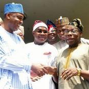 2023: Obasanjo Hosts Saraki, Oyinlola Privately In Ogun
