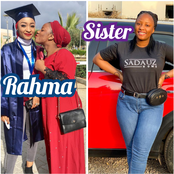 Rahma Sadau Is Beautiful But Have You Seen Her Younger Sister? Check Out Her Lovely Pictures