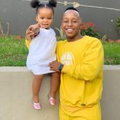 Meet Ntando Duma's Baby Daddy, Junior