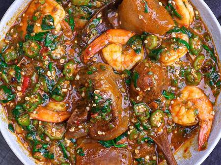 Steps on how to prepare Nigerian okro soup