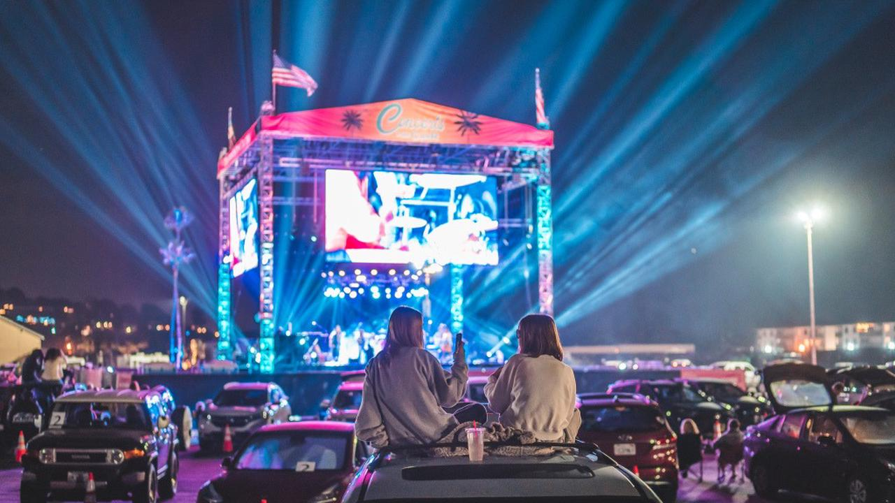 Drive-in concerts became a thing in 2020: Here's how they'll evolve in 2021