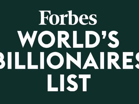 Forbe's Top 15 Richest People