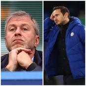 Chelsea Owner, Abramovich Speaks On Frank Lampard's Sack
