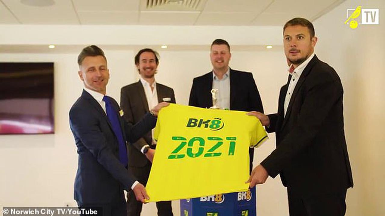 Norwich force new shirt sponsor BK8 to remove adult content from their  social media accounts after fans higlighted the company's sexually  provocative marketing material - Opera News