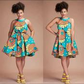 Ankara Flay Gown Styles For Fashionable And Cooperate Ladies