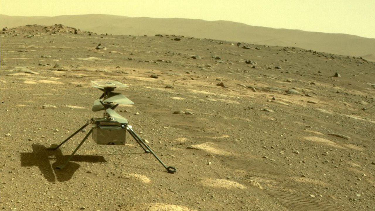 L'hélicoptère Ingenuity va poursuivre sa mission sur Mars