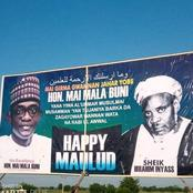 The Giant Billboard Of Yobe State Governor Wishing Happy Maulud To Muslim Faithfuls