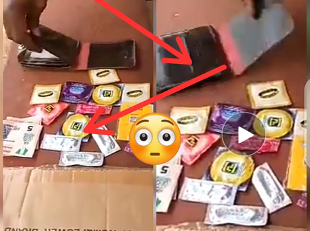 Video: Check Out What Was Seen In A Man's Missing Wallet Causing Reactions