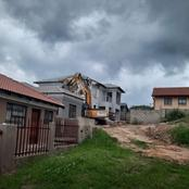 Man bought TLB to demolished the house he builds for his girlfriend after she dumped him