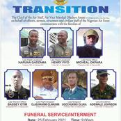 Brave Faces: NAF Releases Photos Of Gallant Officers That Died In Airport Crash