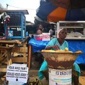 Un internaute ose s'en prendre à la vendeuse de banane et se fait sévèrement recadrer sur facebook