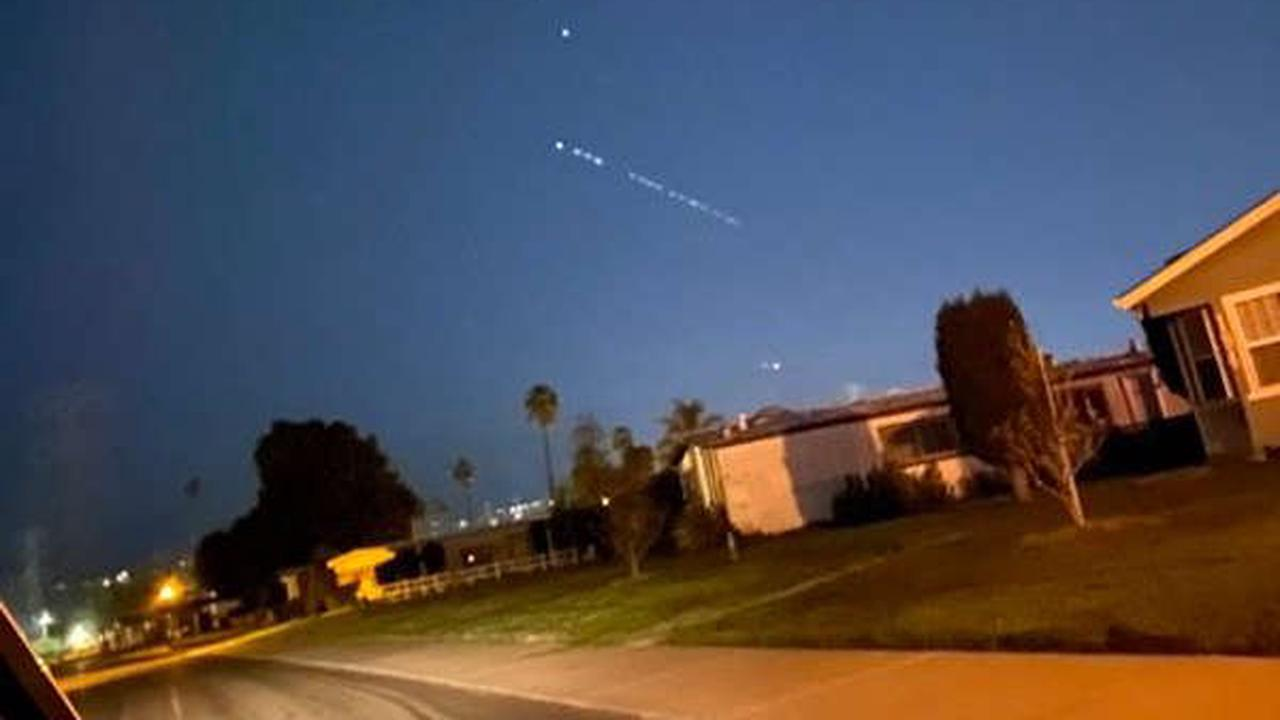 Why you may see strange bright lights in the San Francisco Bay Area sky tonight