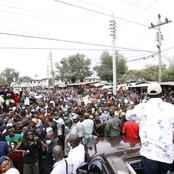 Raila Storms Mombasa County in Style Bring a Standstill in the Following Areas