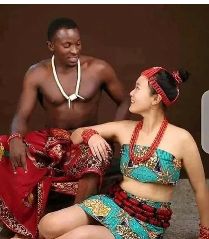 Reactions as lovely pre-wedding pictures of a Nigerian man and his Korean bride surfaces Online 7