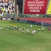 Fans: Dramatic finish, as Swallows equalize with in 96th minute against Sundowns in the DStv Prem
