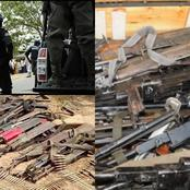 After Bandits Killed 1, Abducted 10 People In Niger, See What Police Recovered From Bandit In Zamfara