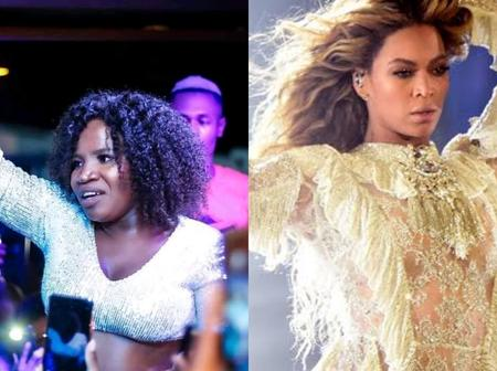 Makhadzi is going to sing with Beyonce and fans are very happy for her