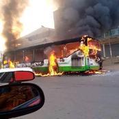 Attaques contre les bus de la Sotra : le Ministère des Transports évalue le préjudice à 2 milliards