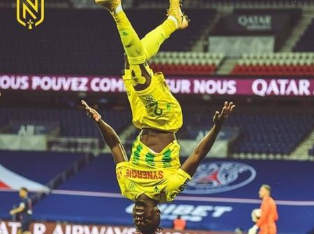 Nantes' Simon Dedicates Goal In Famous PSG Win To His Wife And Mother