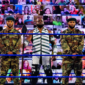 Mixed reaction from Nigerians as a WWE superstar posted this photo online