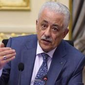 وزير التعليم يُسعد «أولياء الأمور» بشأن نتيجة الطلاب.. والأهالي: «تسلم الأيادي»