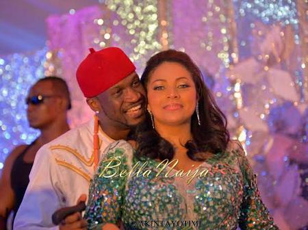 Singer Peter Okoye's Wife, Lola Omotayo Celebrates Dad On Posthumous Birthday (photos)