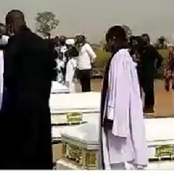 RIP: See Photos From The Burial Ceremony Of The Abuja Airplane Crash Victims