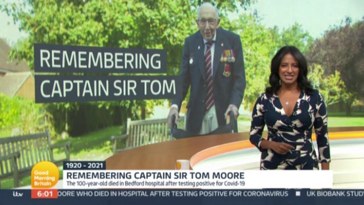 Captain Tom's family pay tribute to hero as 'beacon of light and hope to world' at funeral