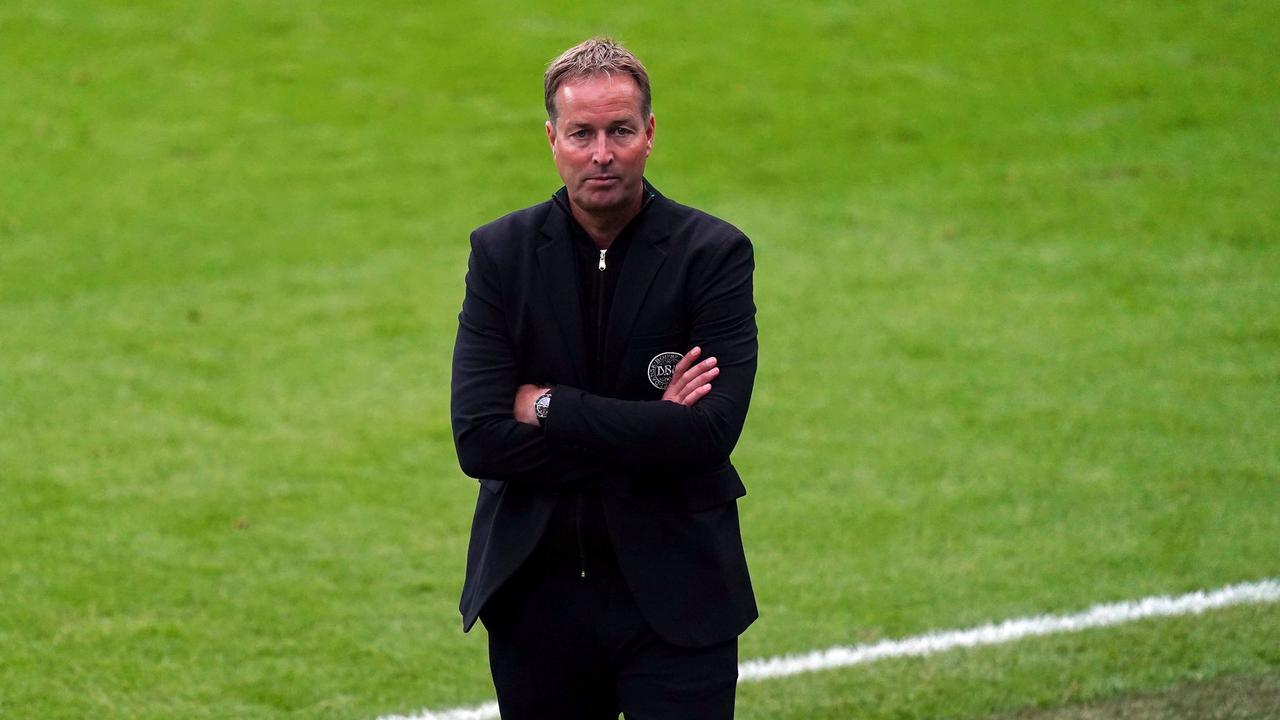 Fuming Denmark manager Hjulmand slams England penalty decision as Southgate admits confusion over second ball on pitch