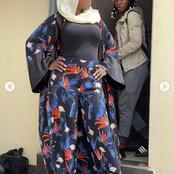 'Beautiful choco' : People react to Yvonne Jegede's gorgeous look dressing as a Muslim lady.(Photos)