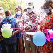 ODM Leader Raila Odinga Officially Opens A School In Kilifi County, Received By Huge Crowds.(Photos)