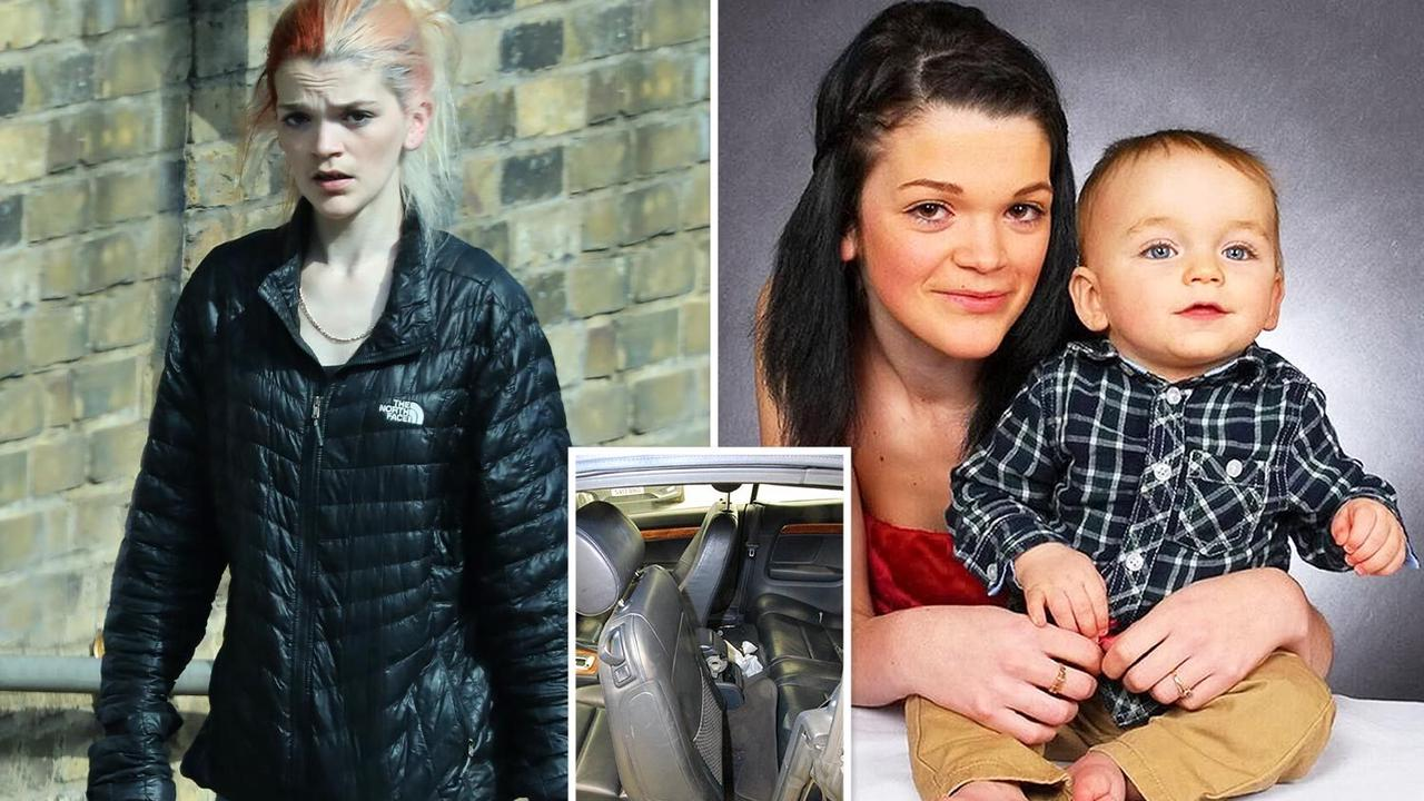 Mum of boy, 3, killed by car seat snapped for first time since leaving jail