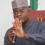I Won't Take Any Vaccine, Kogi Has No Business With COVID- Kogi Governor. Read People's Reactions