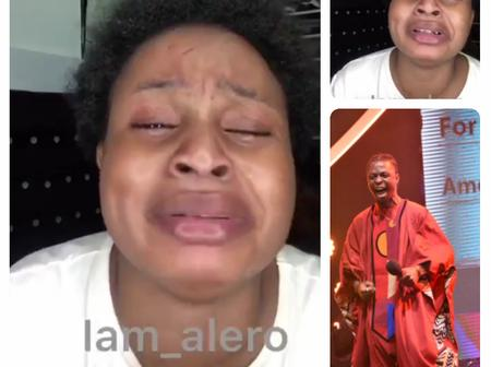 'Laycon I still Love you, Somebody Please Help Me Beg Laycon to Forgive Me'- Lady Cries Out
