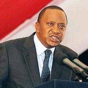 BREAKING NEWS! President Uhuru Kenyatta Expected To Address The Nation Next Week