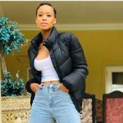 See pictures of The Queen actress, Mpho that got people talking on Instagram.