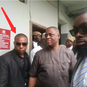 PHOTOS: More Pictures Of The New OPC Leader That Was Fani-Kayode's Bodyguard Years Ago