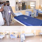 Check out the facilities in this hospital that was commissioned by Bauchi State Governor [Photos]