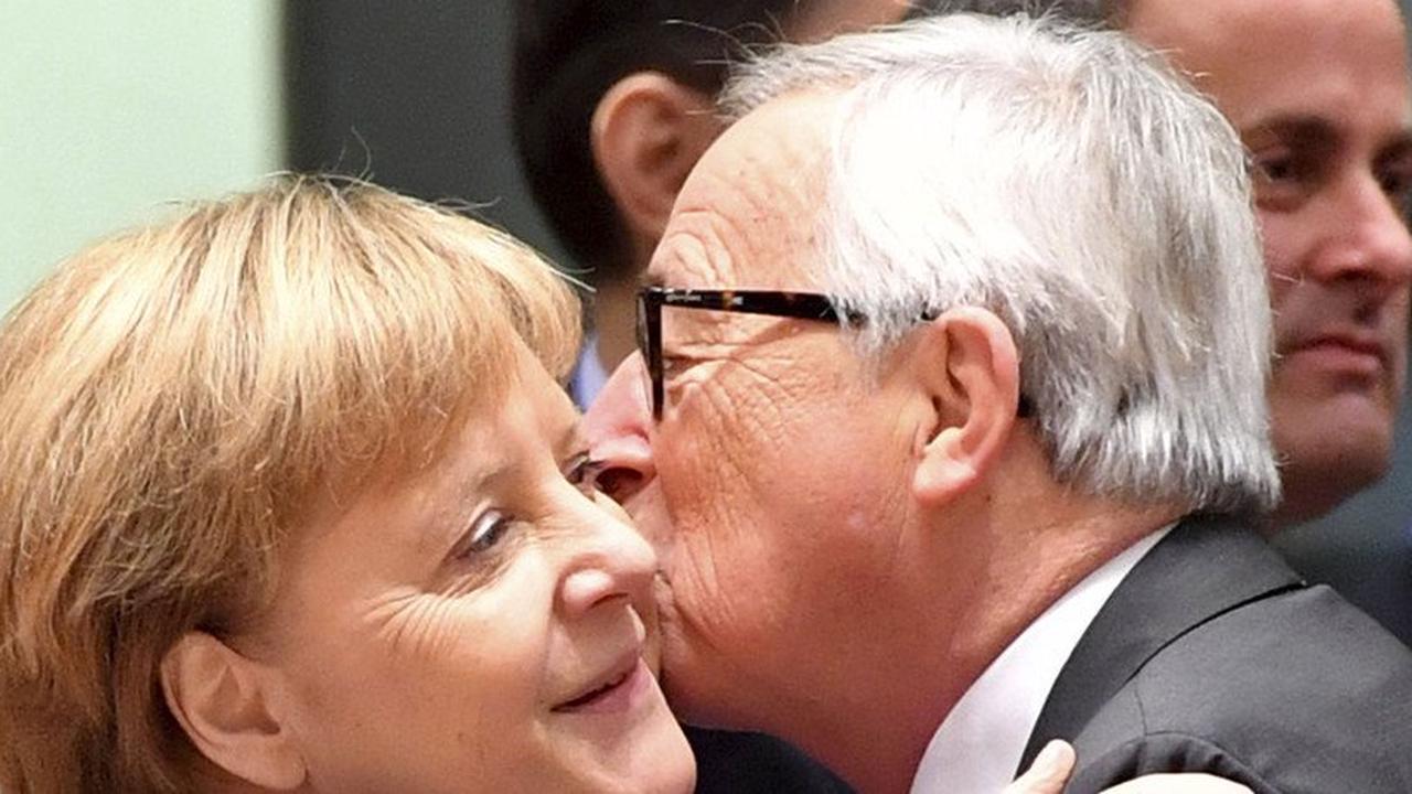 """Juncker: """"Merkel hat uns sehr viel Zeit gekostet"""""""