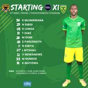 Confirmed Arrows starting XI against Black Leopards