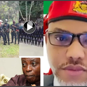 Today's Headlines: Nnamdi Kanu Blasts The Leader Of Another Biafra Group, Yahaya Bello Mourns Usman