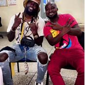 Great News! Funny Face Reunites With Adebayor. Watch Video.