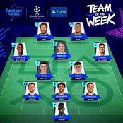 Chelsea Dominate UEFA Champions League Team Of The Week